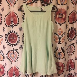 H & M DIVIDED Mint Dress